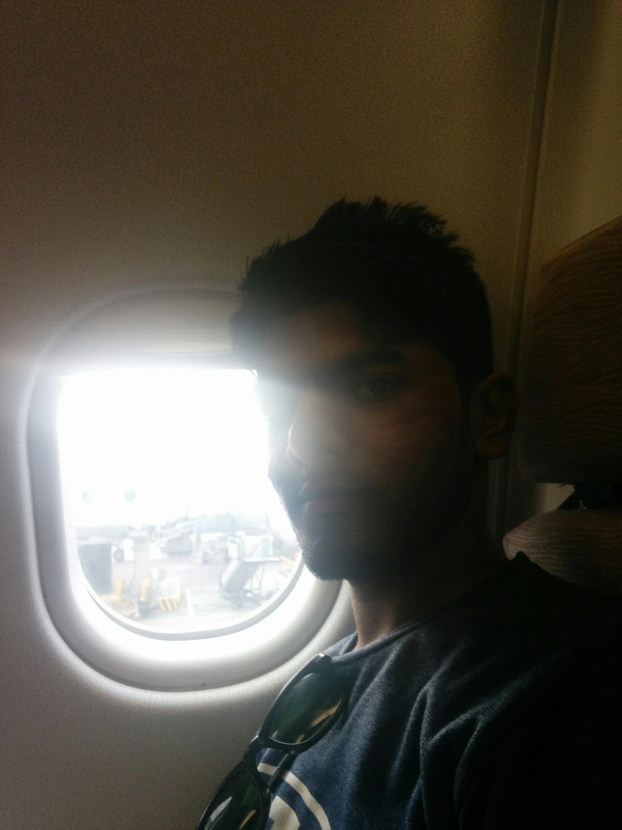 Window Seat - Business Class - Jet Airways Flight
